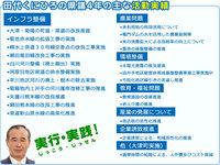 田代くにひろの県議4年の主な活動実績
